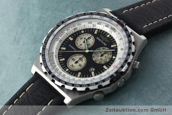 Used luxury watch Breitling Jupiterpilot chronograph steel automatic Kal. B59 B233 Ref. A59027  | 142072 01