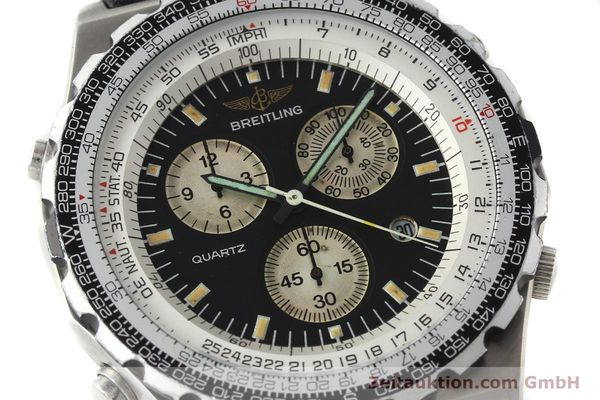 Used luxury watch Breitling Jupiterpilot chronograph steel automatic Kal. B59 B233 Ref. A59027  | 142072 02
