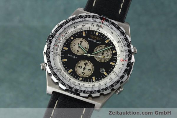 Used luxury watch Breitling Jupiterpilot chronograph steel automatic Kal. B59 B233 Ref. A59027  | 142072 04
