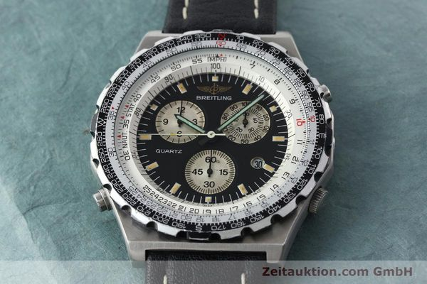 Used luxury watch Breitling Jupiterpilot chronograph steel automatic Kal. B59 B233 Ref. A59027  | 142072 13
