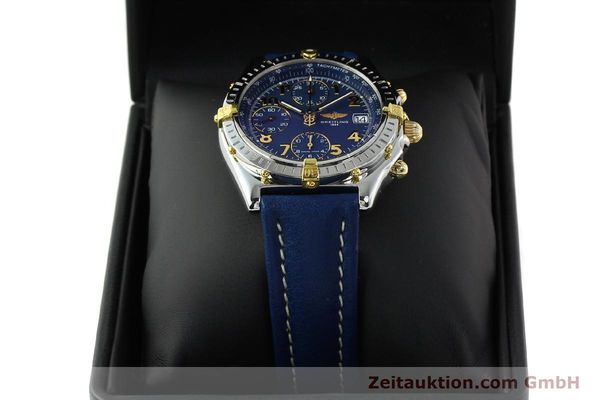 Used luxury watch Breitling Chronomat chronograph gilt steel automatic Kal. B13 ETA 7750 Ref. B13050.1  | 142075 07