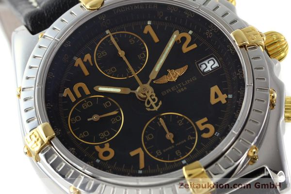 Used luxury watch Breitling Chronomat chronograph steel / gold automatic Kal. B13 ETA 7750 Ref. B13050.1  | 142083 02