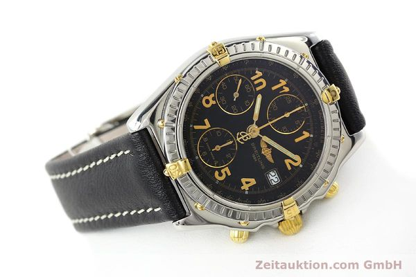 Used luxury watch Breitling Chronomat chronograph steel / gold automatic Kal. B13 ETA 7750 Ref. B13050.1  | 142083 03