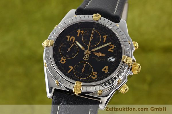 Used luxury watch Breitling Chronomat chronograph steel / gold automatic Kal. B13 ETA 7750 Ref. B13050.1  | 142083 04
