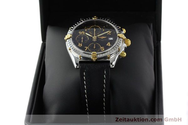 Used luxury watch Breitling Chronomat chronograph steel / gold automatic Kal. B13 ETA 7750 Ref. B13050.1  | 142083 07