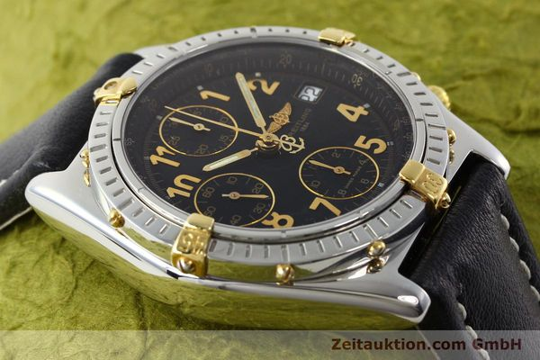 Used luxury watch Breitling Chronomat chronograph steel / gold automatic Kal. B13 ETA 7750 Ref. B13050.1  | 142083 14