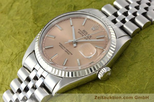 montre de luxe d occasion Rolex Datejust acier / or  automatique Kal. 1570 Ref. 1601  | 142085 01