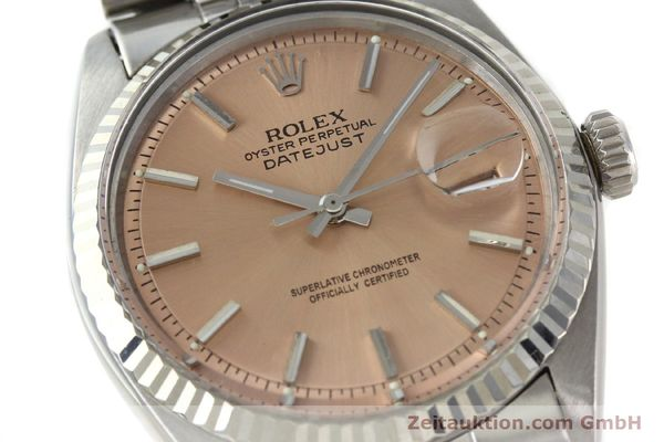 Used luxury watch Rolex Datejust steel / gold automatic Kal. 1570 Ref. 1601  | 142085 02