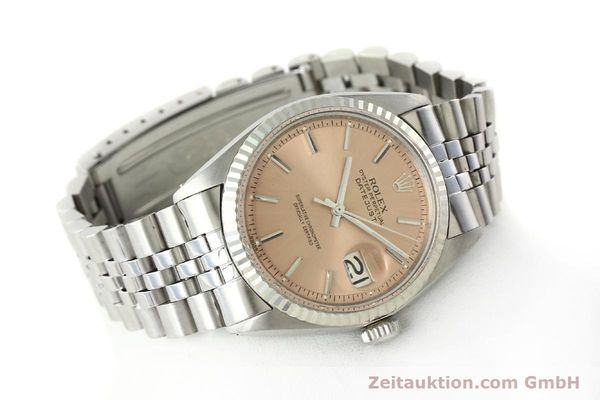 montre de luxe d occasion Rolex Datejust acier / or  automatique Kal. 1570 Ref. 1601  | 142085 03