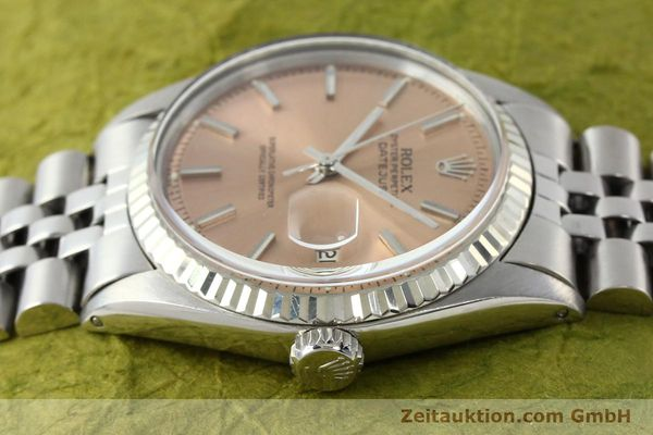 montre de luxe d occasion Rolex Datejust acier / or  automatique Kal. 1570 Ref. 1601  | 142085 05