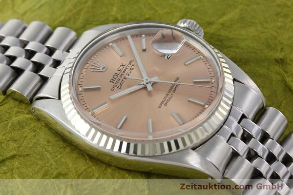 Used luxury watch Rolex Datejust steel / gold automatic Kal. 1570 Ref. 1601  | 142085 15
