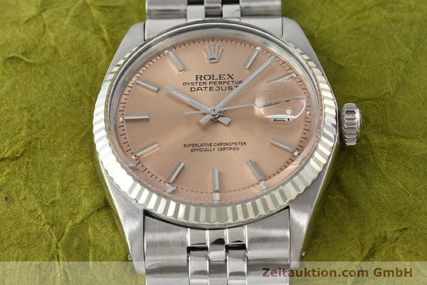 montre de luxe d occasion Rolex Datejust acier / or  automatique Kal. 1570 Ref. 1601  | 142085 16