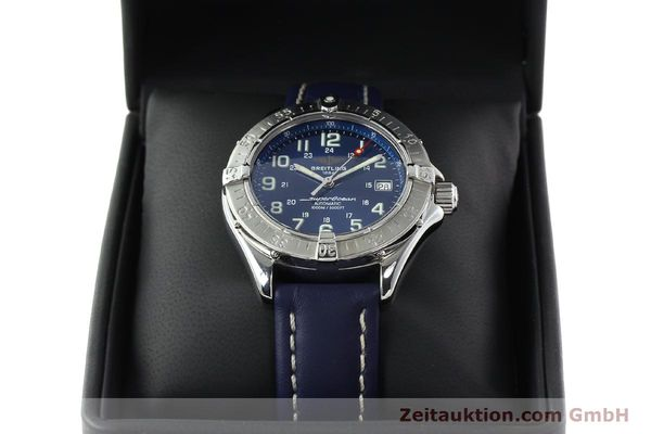 Used luxury watch Breitling Superocean steel automatic Kal. B17 ETA 2824-2 Ref. A17340  | 142088 07