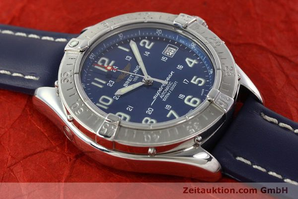 Used luxury watch Breitling Superocean steel automatic Kal. B17 ETA 2824-2 Ref. A17340  | 142088 13