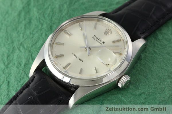 Used luxury watch Rolex Precision steel manual winding Kal. 1225 Ref. 6694  | 142090 01
