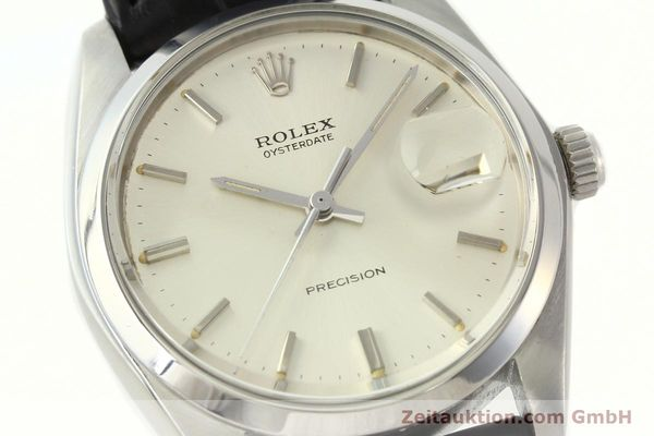 Used luxury watch Rolex Precision steel manual winding Kal. 1225 Ref. 6694  | 142090 02