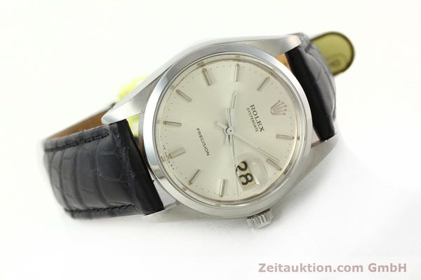 Used luxury watch Rolex Precision steel manual winding Kal. 1225 Ref. 6694  | 142090 03