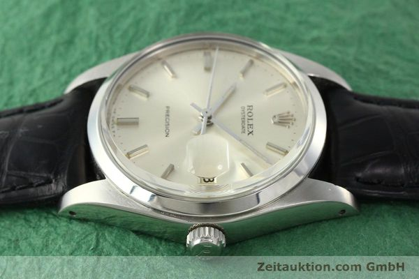 Used luxury watch Rolex Precision steel manual winding Kal. 1225 Ref. 6694  | 142090 05