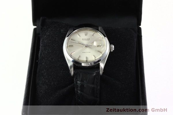 Used luxury watch Rolex Precision steel manual winding Kal. 1225 Ref. 6694  | 142090 07