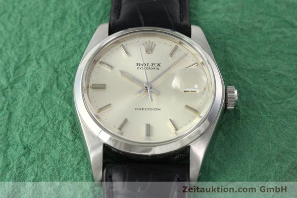 Used luxury watch Rolex Precision steel manual winding Kal. 1225 Ref. 6694  | 142090 15