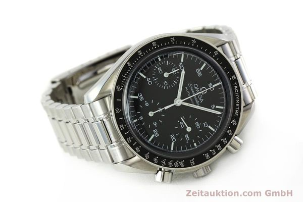 Used luxury watch Omega Speedmaster chronograph steel automatic Kal. 3220 ETA 2890-2 Ref. 35105000  | 142094 03