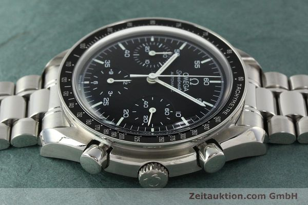 Used luxury watch Omega Speedmaster chronograph steel automatic Kal. 3220 ETA 2890-2 Ref. 35105000  | 142094 05
