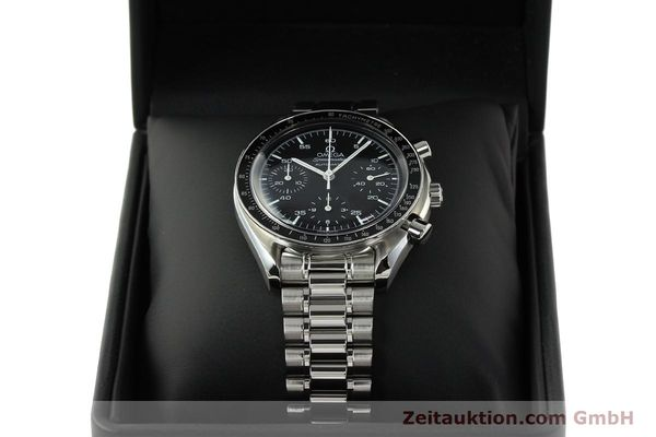 Used luxury watch Omega Speedmaster chronograph steel automatic Kal. 3220 ETA 2890-2 Ref. 35105000  | 142094 07