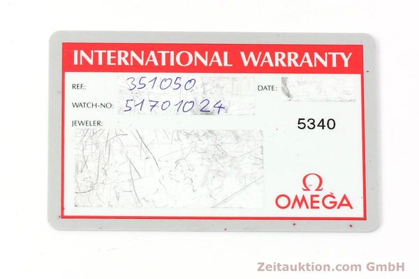 Used luxury watch Omega Speedmaster chronograph steel automatic Kal. 3220 ETA 2890-2 Ref. 35105000  | 142094 08