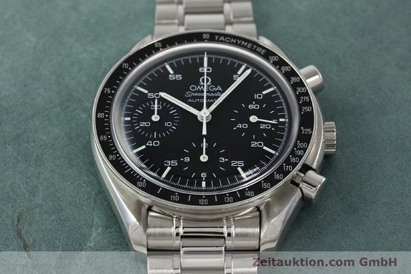 Used luxury watch Omega Speedmaster chronograph steel automatic Kal. 3220 ETA 2890-2 Ref. 35105000  | 142094 16