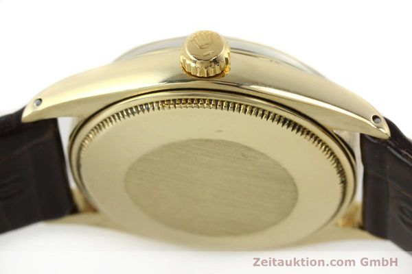 Used luxury watch Rolex Oyster Perpetual 14 ct yellow gold automatic Kal. 1560 Ref. 1002  | 142095 11