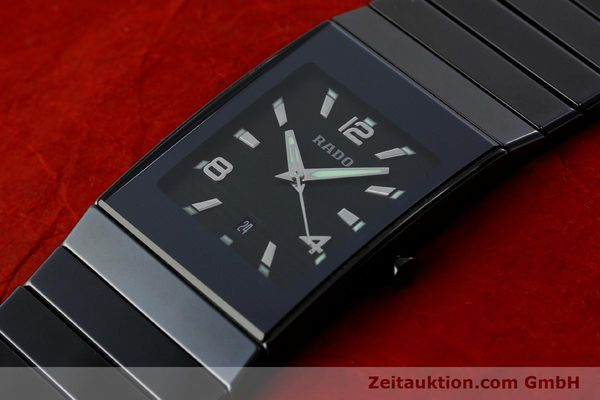 Used luxury watch Rado Diastar Ceramica ceramic quartz Kal. ETA 256111 Ref. 152.0347.3  | 142096 01