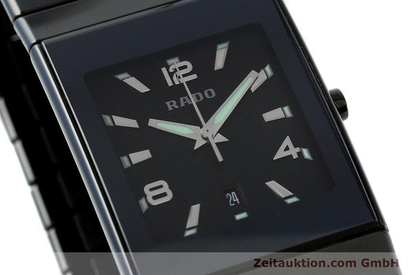 Used luxury watch Rado Diastar Ceramica ceramic quartz Kal. ETA 256111 Ref. 152.0347.3  | 142096 02