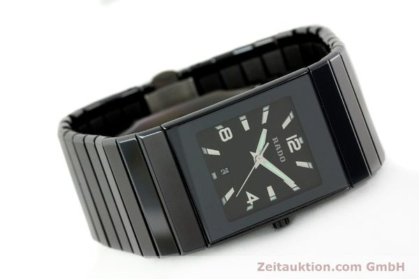 Used luxury watch Rado Diastar Ceramica ceramic quartz Kal. ETA 256111 Ref. 152.0347.3  | 142096 03