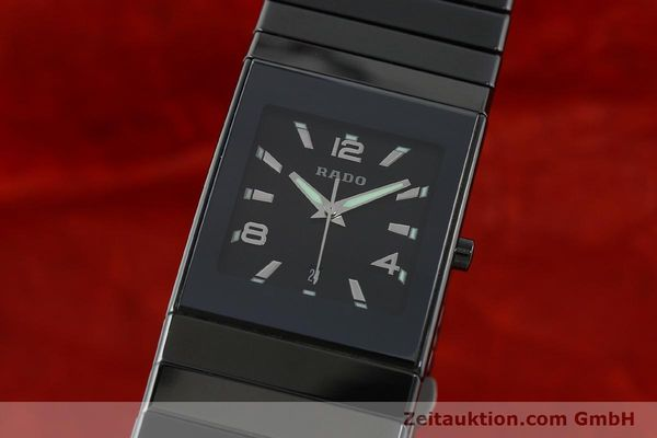 Used luxury watch Rado Diastar Ceramica ceramic quartz Kal. ETA 256111 Ref. 152.0347.3  | 142096 04