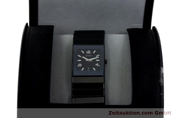 Used luxury watch Rado Diastar Ceramica ceramic quartz Kal. ETA 256111 Ref. 152.0347.3  | 142096 07