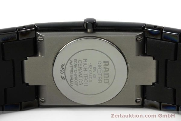 Used luxury watch Rado Diastar Ceramica ceramic quartz Kal. ETA 256111 Ref. 152.0347.3  | 142096 09
