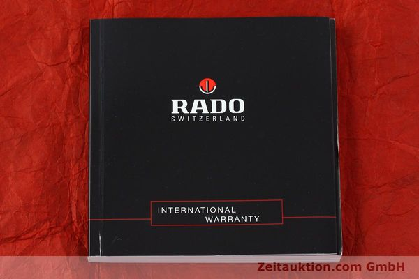 Used luxury watch Rado Diastar Ceramica ceramic quartz Kal. ETA 256111 Ref. 152.0347.3  | 142096 12