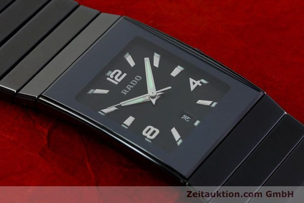 Used luxury watch Rado Diastar Ceramica ceramic quartz Kal. ETA 256111 Ref. 152.0347.3  | 142096 15