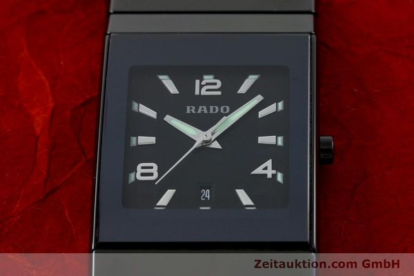 Used luxury watch Rado Diastar Ceramica ceramic quartz Kal. ETA 256111 Ref. 152.0347.3  | 142096 16