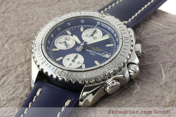 Used luxury watch Breitling Shark chronograph steel automatic Kal. B13 ETA 7750 Ref. A13054  | 142098 01