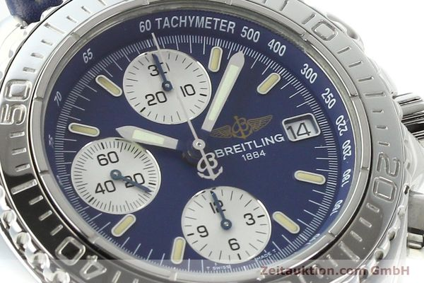 Used luxury watch Breitling Shark chronograph steel automatic Kal. B13 ETA 7750 Ref. A13054  | 142098 02