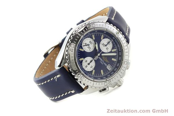 Used luxury watch Breitling Shark chronograph steel automatic Kal. B13 ETA 7750 Ref. A13054  | 142098 03