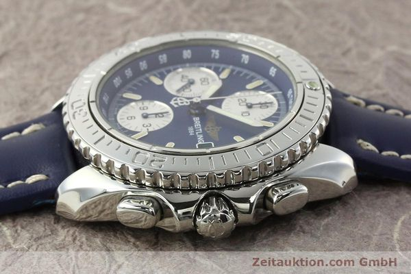 Used luxury watch Breitling Shark chronograph steel automatic Kal. B13 ETA 7750 Ref. A13054  | 142098 05