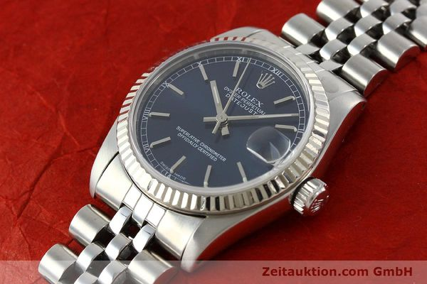 Used luxury watch Rolex Datejust steel / white gold automatic Kal. 2135 Ref. 68274  | 142099 01