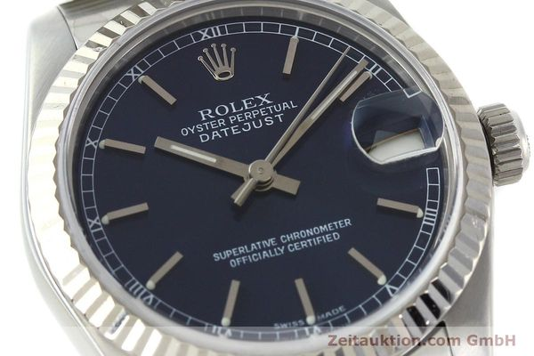 Used luxury watch Rolex Datejust steel / white gold automatic Kal. 2135 Ref. 68274  | 142099 02