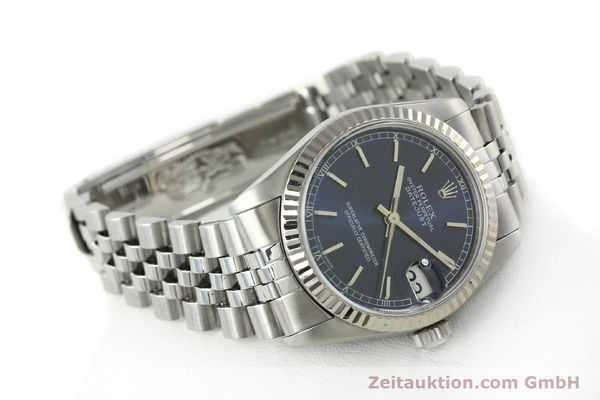 Used luxury watch Rolex Datejust steel / white gold automatic Kal. 2135 Ref. 68274  | 142099 03
