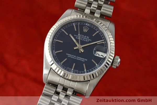 Used luxury watch Rolex Datejust steel / white gold automatic Kal. 2135 Ref. 68274  | 142099 04