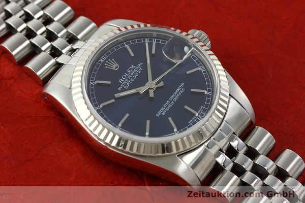 Used luxury watch Rolex Datejust steel / white gold automatic Kal. 2135 Ref. 68274  | 142099 16