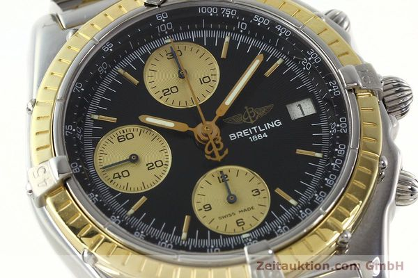 Used luxury watch Breitling Chronomat chronograph steel / gold automatic Kal. B13 ETA 7750 Ref. D13048  | 142100 02