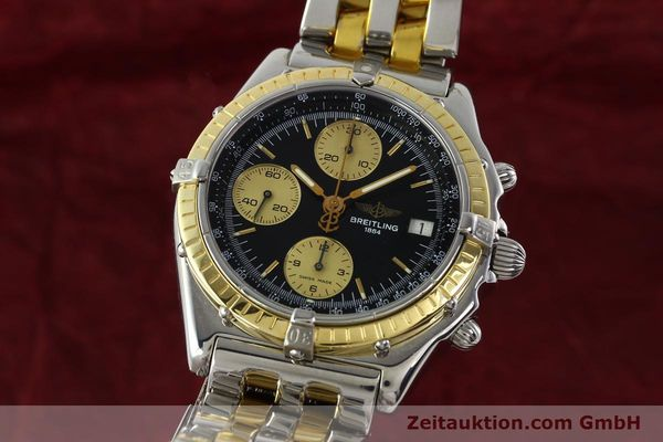 Used luxury watch Breitling Chronomat chronograph steel / gold automatic Kal. B13 ETA 7750 Ref. D13048  | 142100 04